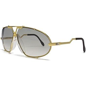 ab6e30d21c10 Cazal Oval Gold Sunglasses Cazal 906 097 69 69 Crystal Grey  Amazon ...