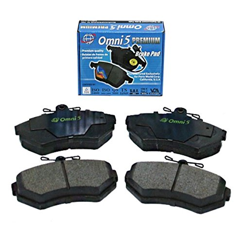BS0218 : Omni 5 Semi Metalic Brake Pad PDM756 Front ISO Certified !! (Interchange # : MKD756, 102.07560, D756, PGD756, MX756) (Front D756)