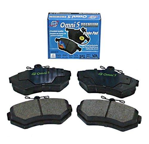 (ONNURI Semi Metalic Brake Pad PDM756 Front (Interchange # : MKD756, 102.07560, D756, PGD756, MX756) - BS0218)