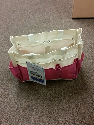 Canvas Craft Caddy Project Tote (Colors May Vary)