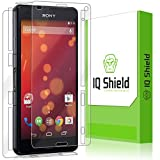 xperia z3 compact with warranty - Sony Xperia Z3 Compact Screen Protector, IQ Shield LiQuidSkin Full Body Skin + Full Coverage Screen Protector for Sony Xperia Z3 Compact HD Clear Anti-Bubble Film - with