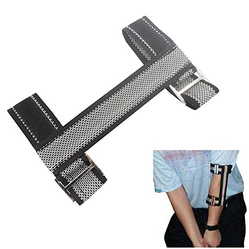 Golf Elbow Arm Band Braces Swing Gesture Posture Corrector Alignment Training Aid for Beginners by DBAIHUK