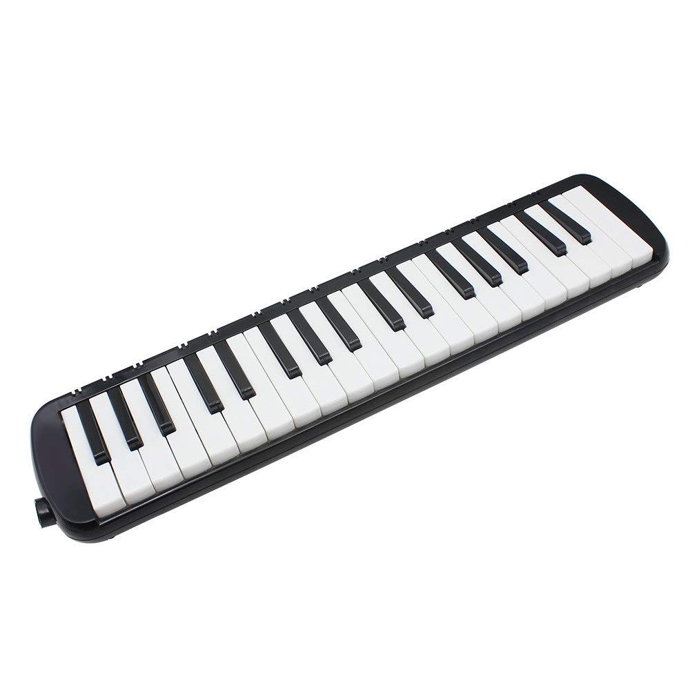 Melodica Musical Instrument 37 Keys Piano Style Melodica Full Sets With Carrying Bag Straps Double 2 Mouthpieces Tube Educational Portable Musical InstrumentGift Toys For Kids Music Lovers Beginners f by Shirleyle-MU (Image #2)