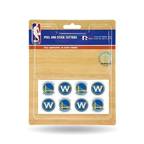 NBA Golden State Warriors Face Tattoos, 8-piece Set -
