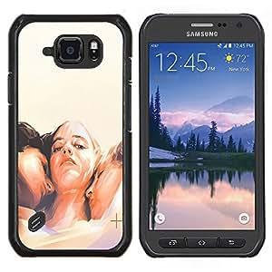 Dragon Case - FOR Samsung Galaxy S6 active/G870A/G890A (Not Fit S6) - come on baby - Caja protectora de pl??stico duro de la cubierta Dise?¡Ào Slim Fit