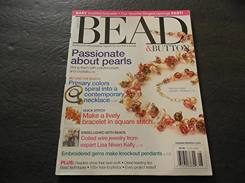 Bead Button, Aug 2005, Knotted bracelets, Fringed Earrings