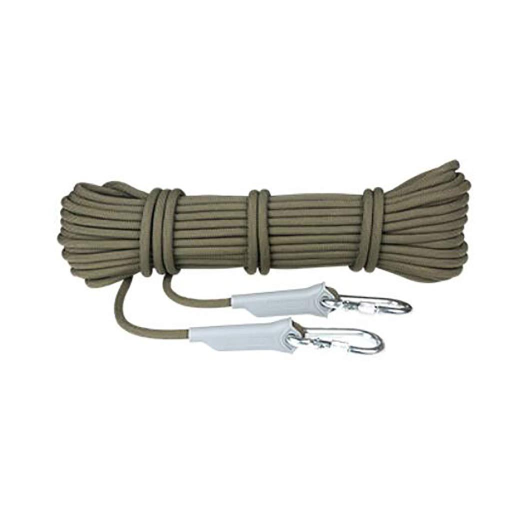 B QARYYQ Corde d'escalade résistante à l'usure pour Le Camping, Escalade, activités de Plein air de différentes Tailles Cordes (Couleur   A, Taille   6mm 30m) 8mm 30m