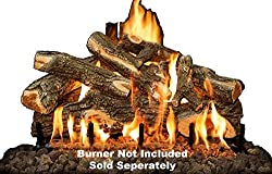 """Fireplace Logs Grand Canyon 8Pc Arizona Weathered Oak For Front View Burners 30"""" (Burner not included) FCPAWO30LOGS"""