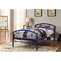 Coaster Home Furnishings 400029T Twin Bed, Blue