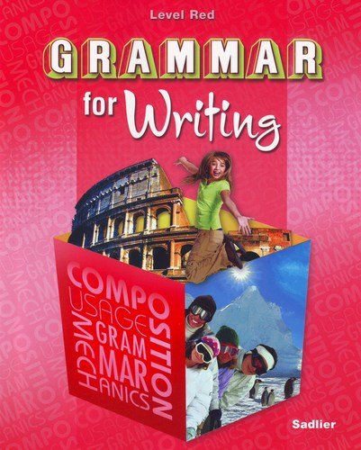 Grammar for Writing Level Red