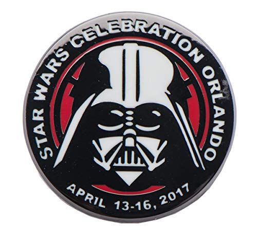 Star Wars Darth Vader Celebration 2017 Orlando Pin, Toynk Exclusive -