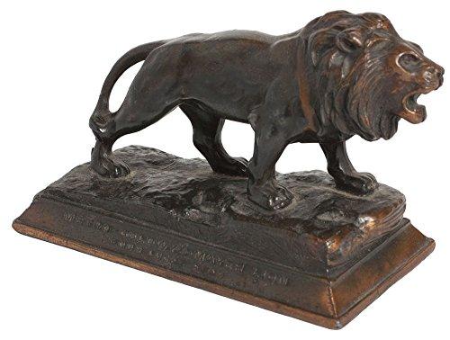 (Metro-Goldwyn Mayer Lion: Your Lucky Star 1930s U.S. Statuette)