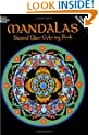 Mandalas Stained Glass Coloring Book (Dover Design Stained Glass Coloring Book)