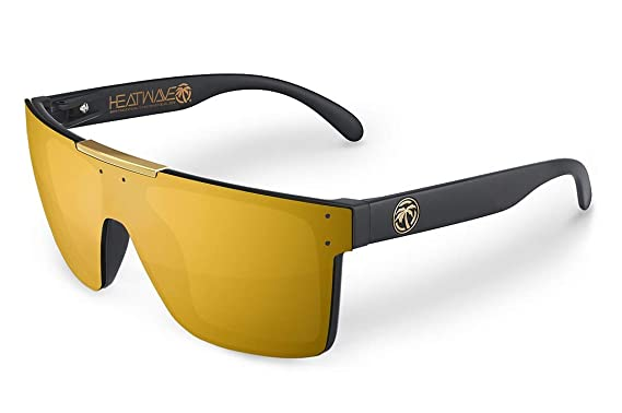 a40f48f4619 Amazon.com  Heat Wave Visual Quatro Sunglasses in Bronze  Clothing