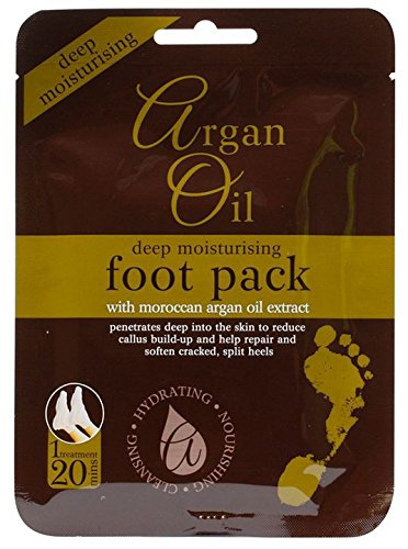 Deep Moisturising Foot Pack with Morrocan Argan Oil Extract Xpel Marketing Ltd ArganOilFP