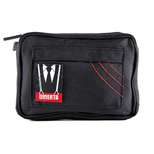 - Omerta Pouch by DimeBags - Smell Proof Zippered Case w/Carbon Filtered Pouch (8 Inch)