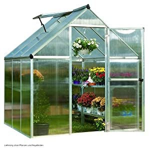 greenhouse 6x6 polycarbonate