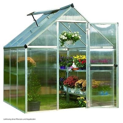 greenhouse 6x6 polycarbonate