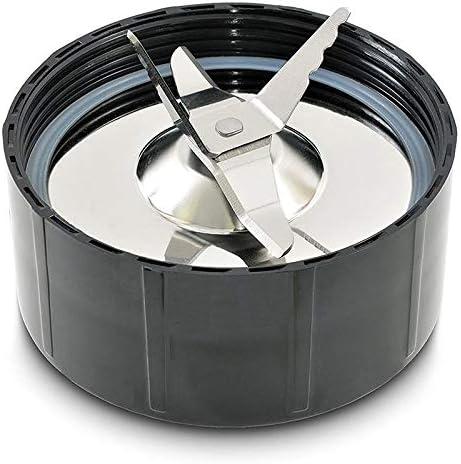 SODIAL 2 Piezas Piezas de Repuesto de Exprimidor de Cuchilla de Hielo Cruzada para Magic Blender Licuadora Exprimidor y Procesador de Alimentos