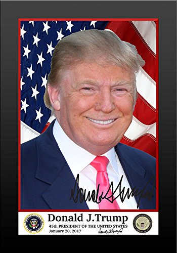 President Donald Trump Official Presidential Picture Framed 5