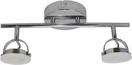 Lámpara de techo con 2 focos LED: Amazon.es: Iluminación