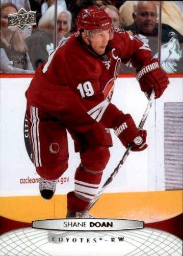 2011-12 Upper Deck #53 Shane Doan NHL Hockey Trading - Upper Deck 12