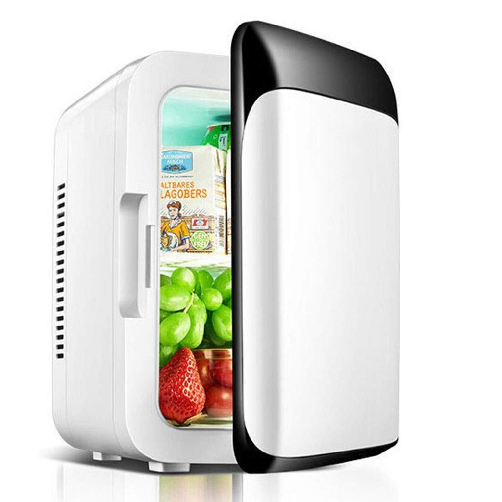 Refrigerator SHPING 8L Car Mini Portable Smart LCD Display Home Energy Saving Mute (Color : A) by Refrigerator