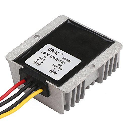DROK DC-DC Buck Boost Converter Voltage Regulator Stabilizer International...