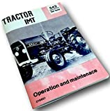 owners manual tractors - Imt Tractor 542 De Luxe Operation Owners Opreators Maintenace Manual Service