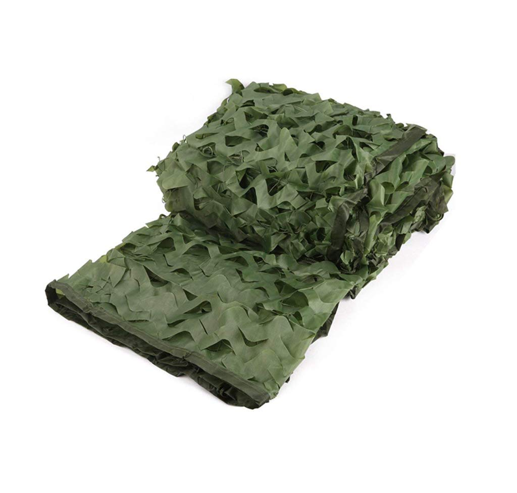 YCYZWZW Camping Masque Le Filet de Camouflage Vert armée est utilisé pour Cacher Le Parasol tirant Une Voiture de Prougeection de Camping en Plein air dans Les Bois, Multi-Taille Desert Camo Net