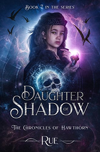 Daughter of Shadow (The Chronicles of Hawthorn Book 7) - Journey Heart Pendant Necklace
