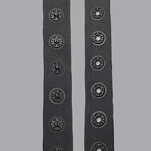 Ruban bouton pression 18mm housse de couette coussin couture  ameublement