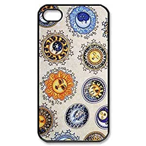 SUUER Sun And Moon Celestial Hard CASE for iPhone 5 5s case -Black CASE
