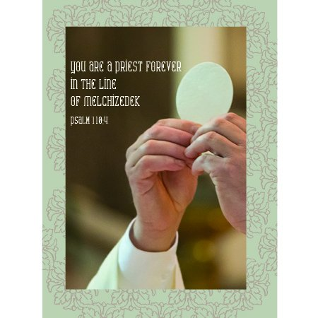 - Card for a Priest