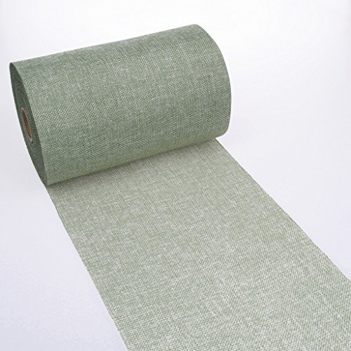 Shabby Chic table runner - Linen look table runner - col.7 - mint green - 8 by 72, 90, 96, 108. - inch - 69-200-5-7 -