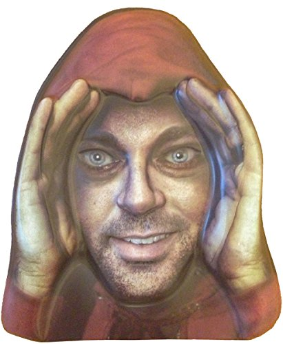 Scary Peeper Cling Window Mask product image