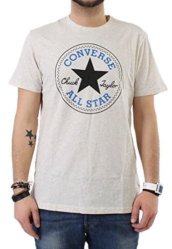 Converse T-Shirt Men AMT 08335 Cream