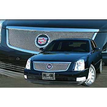Amazon.com: 06-10 Cadillac DTS Stainless Mesh Grille Grill ...