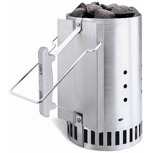 Weber-Stephen Aluminum Chimney Charcoal Grill Fire Starters
