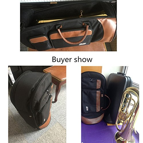 Jinchuan Euphoniums Gig Bag Soft Case Large Premium One 32inch Length by Jinchuan (Image #7)
