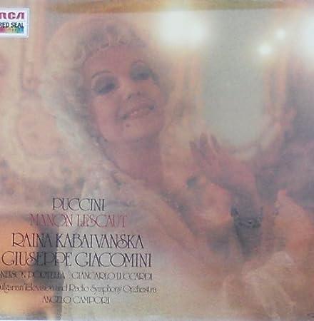 Puccini Manon Lescaut (VINYL-BOX)