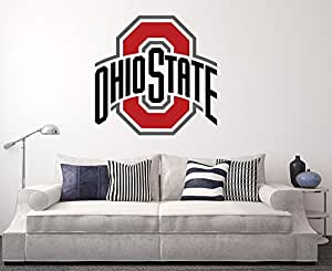 Amazon Com Ohio State Buckeyes Wall Decal Home Decor Art Home Decorators Catalog Best Ideas of Home Decor and Design [homedecoratorscatalog.us]