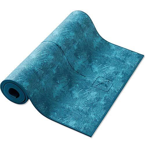 LULIN Yoga mat Men and Women Fitness mat, Home mat Beginner Training Portable Yoga mat Protection Joint