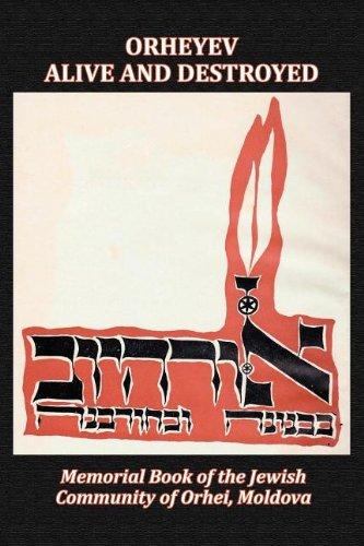 Download Memorial Book of the Jewish Community of Orhei, Moldova pdf epub