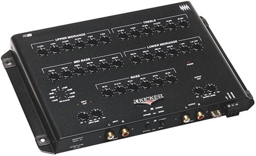 Kicker 03KQ30 30-Band Equalizer - Eq Crossover