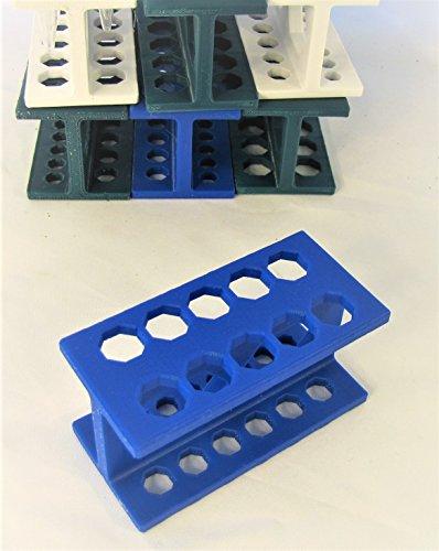 Mini Rack for Microcentrifuge Tubes, Micro Stand, Centrifuge Tube Holder. Fit 1.5 0.5 0.2 ml Tubes & PCR Strip (1)