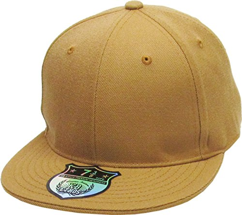 - KBETHOS KNW-2364 TIM (8) The Real Original Fitted Flat-Bill Hats True-Fit, 9 Sizes & 20 Colors
