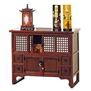Oriental furniture asian 41 inch japanese small buffet for Asian furniture emeryville ca