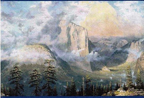 Thomas Kinkade Border (Thomas Kinkade Blue Yosemite Valley Wallpaper)