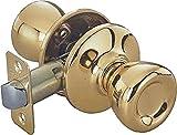 TOOLBASIX 5764PB-PS-3L Passage Latch Adjustable, Polished Brass by Tool Basix